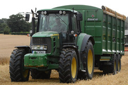Broughan Grain Trailer with Rollover Cover