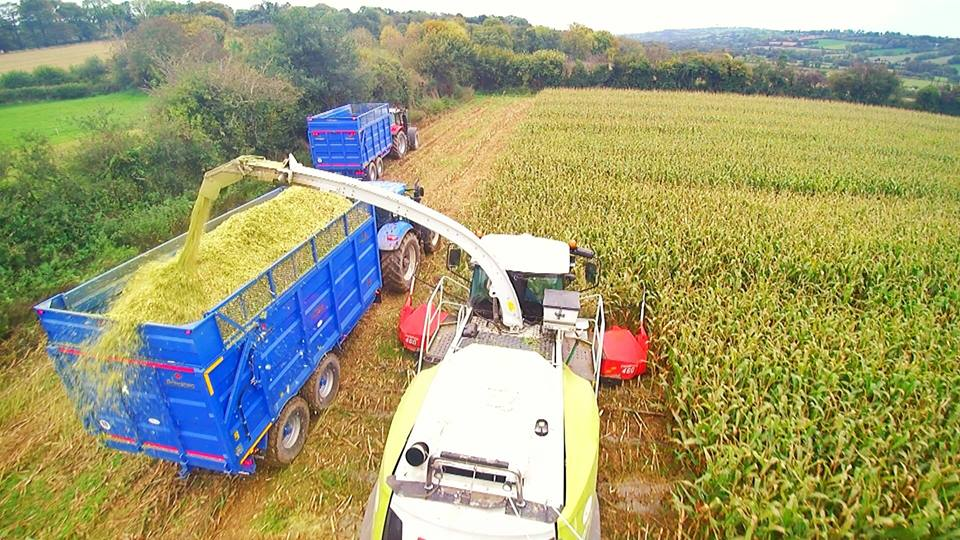 Bird's Eye View of a Broughan Trailer