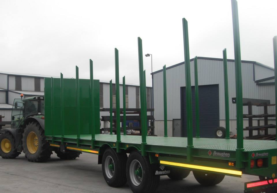 35ft Timber Trailer