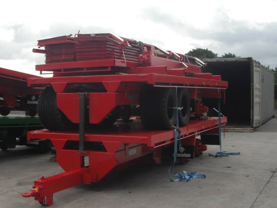 Trailers Being Readied for Shipment to NZ