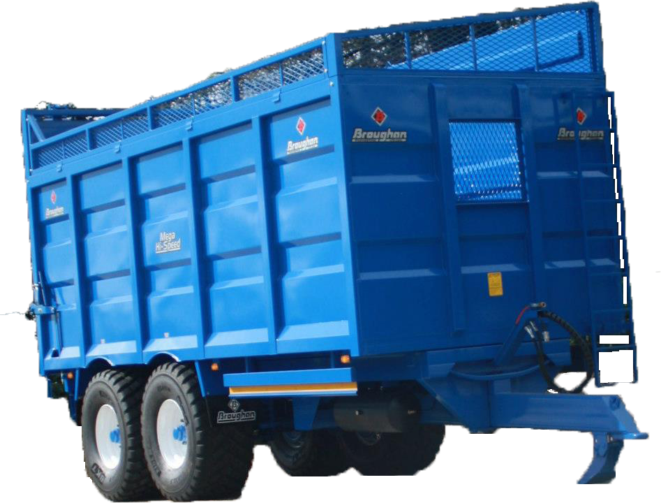 Twin Axle Silage Trailer
