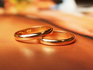 Aliança de casamento que foi perdida