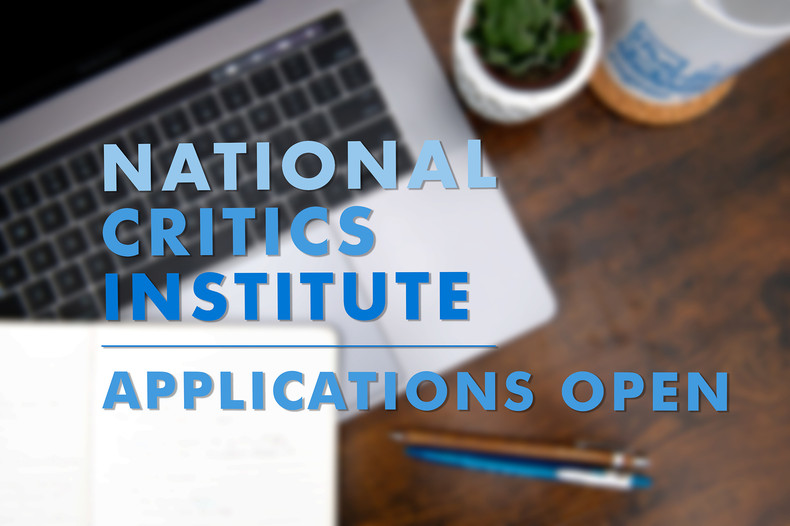 National Critics Institute Applications Open