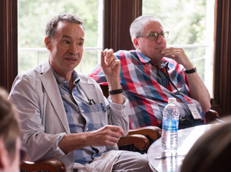 Ben Brantley and Peter Marks