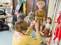 Puppeteer in Workshop