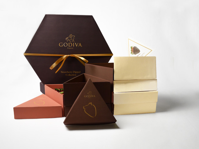 GODIVA Chocolate Strawberry Package ( Course Assignment)
