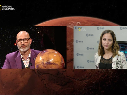 National Geographic: Mission to Mars