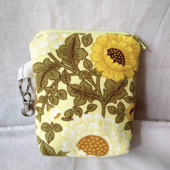 Card & Key Purse Spring Floral