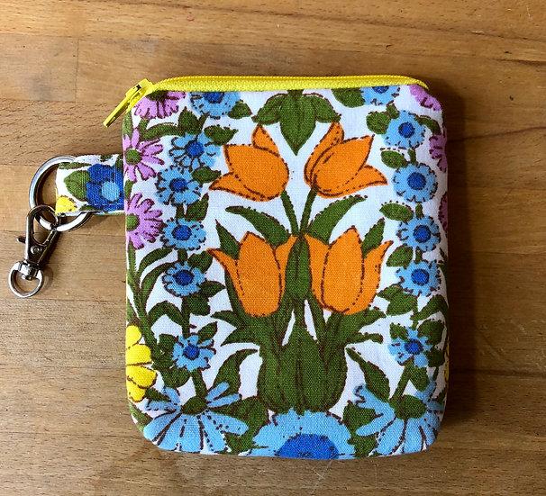 Card and Key Purse Daisychain Multi