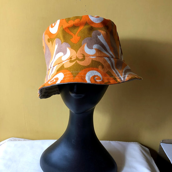 Bucket Hat Vintage Fabric Aragon