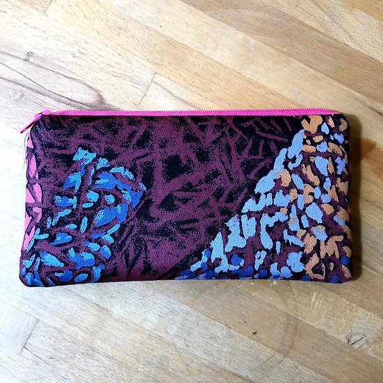 Specs Case Vintage 80s Fabric Abstract