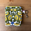 Thumbnail: Card and Key Purse Vintage Fabric Daisychain Multi
