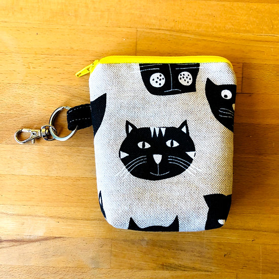 Card and Key Purse Cats of Catford