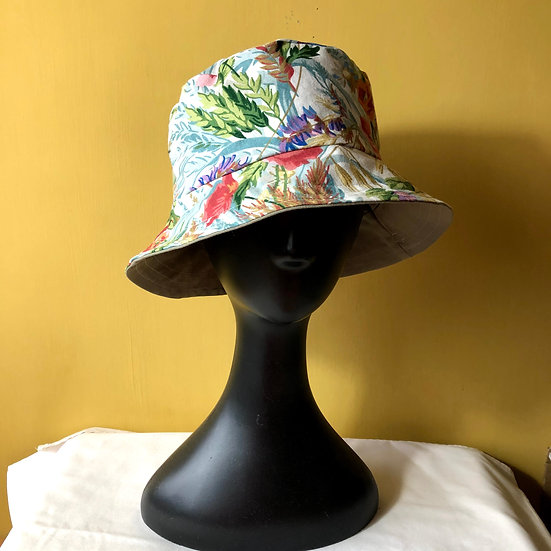 Bucket Hat Vintage Fabric Ceres Pinks