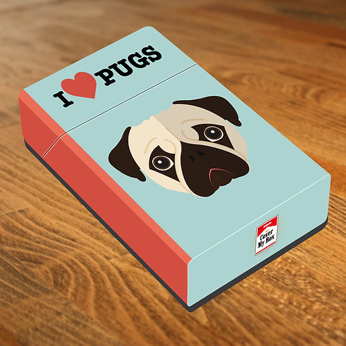 LOVE PUGS - Box Covers