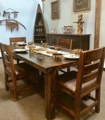 42 inch Rough Sawn Table