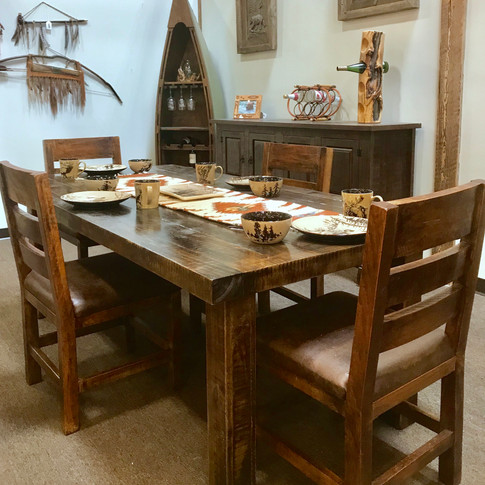NEW! Rough Sawn Tables