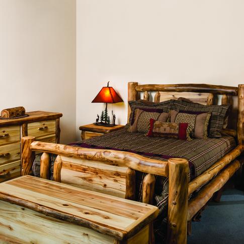 Traditional Rustic Log Bedroom Sets
