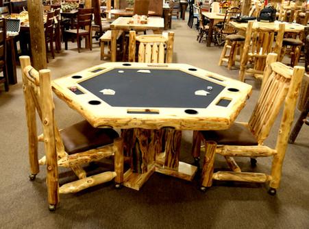 Custom Made Poker Tables!