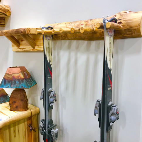 Ski Racks and Shelves
