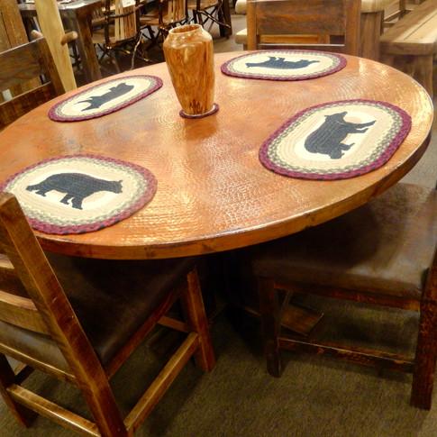 Copper Top Tables