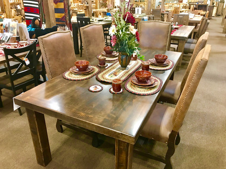 NEW! Rough Sawn Table