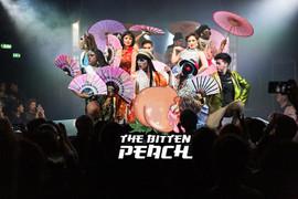 Bitten peach logo on underbelly photo.jp