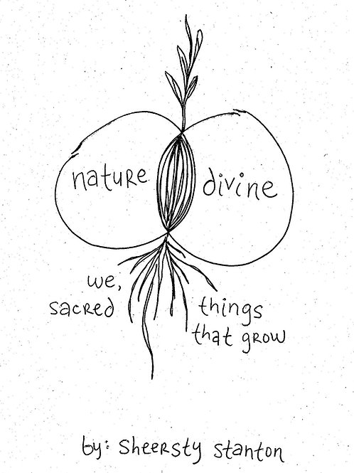 Nature Divine: We, Sacred Things That Grow Audio