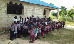 Some of the Students at Agape