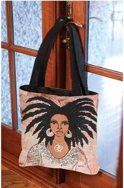 Nubian Queen Tote by Gbaby