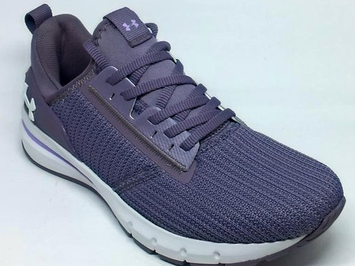 TENIS UNDER ARMOUR CHARGED CRUIZE 3023425 FLWHWH  LILAS