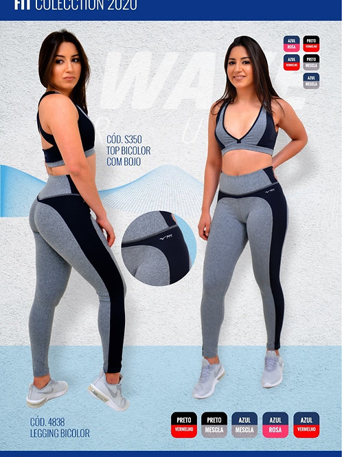 LEGGING WAVE RUN BICOLOR