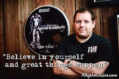 Aaron kennedy Drummer-educator-Clincian-Mentor