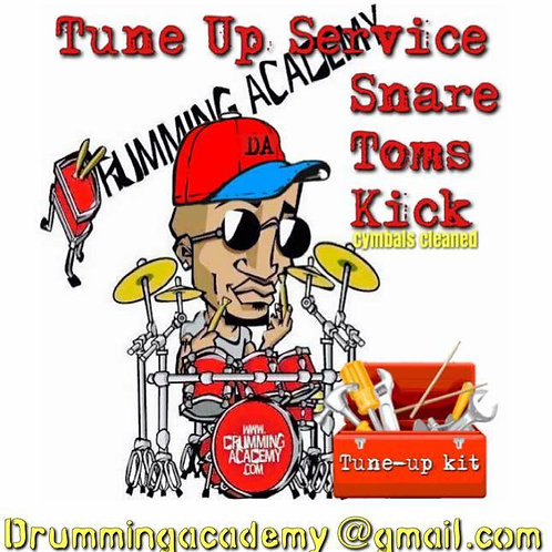 Tune up Service. Snare drum to full kit tuning