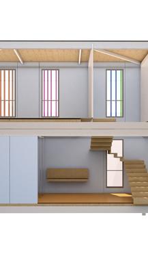 BIM para analásis constructivo y estado de mediciones para construcción de edificio de oficinas en Castellbisbal