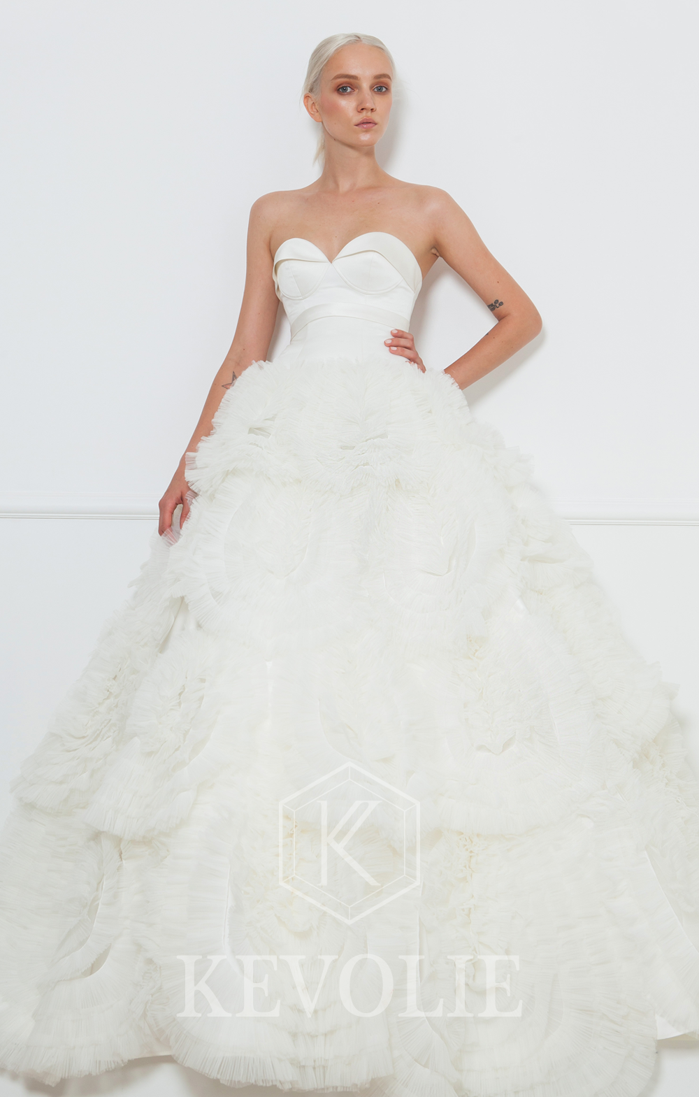 BRIDAL COLLECTION 2015-LOOK 5