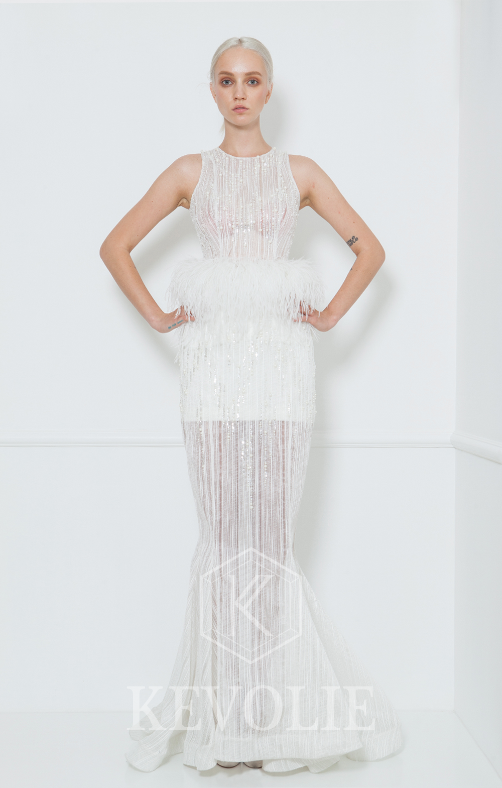 BRIDAL COLLECTION 2015-LOOK 26