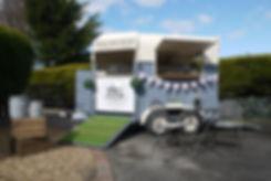 Horsin' About vintage horse box mobile bar
