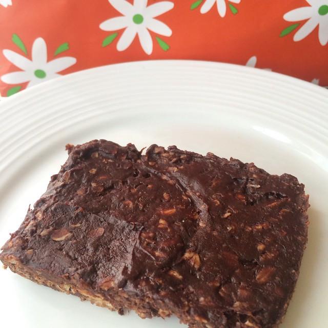 Barres énergétiques chocolat et amandes  | Dodo la Grano - recettes végétaliennes, santé et simples