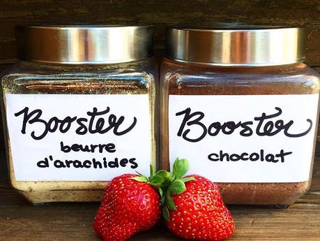 Boosters au beurre d'arachides et au chocolat