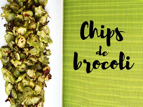 Chips de brocoli
