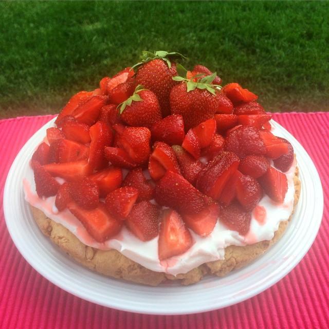 Shortcake aux fraises    Dodo la Grano - recettes végétaliennes, santé et simples