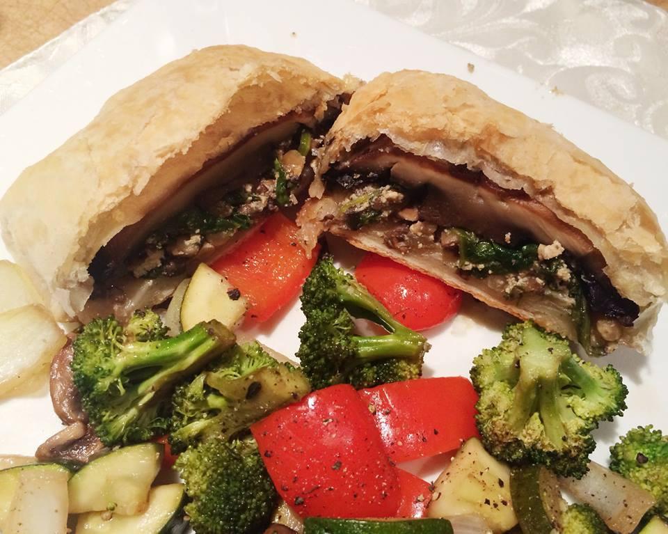 Portobellos Wellington | Dodo la Grano - recettes végétaliennes, santé et simples
