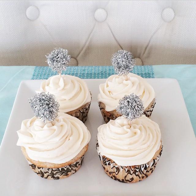 Cupcakes au champagne | Dodo la Grano - recettes végétaliennes, santé et simples
