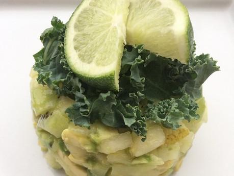 Tartare vert déjeuner