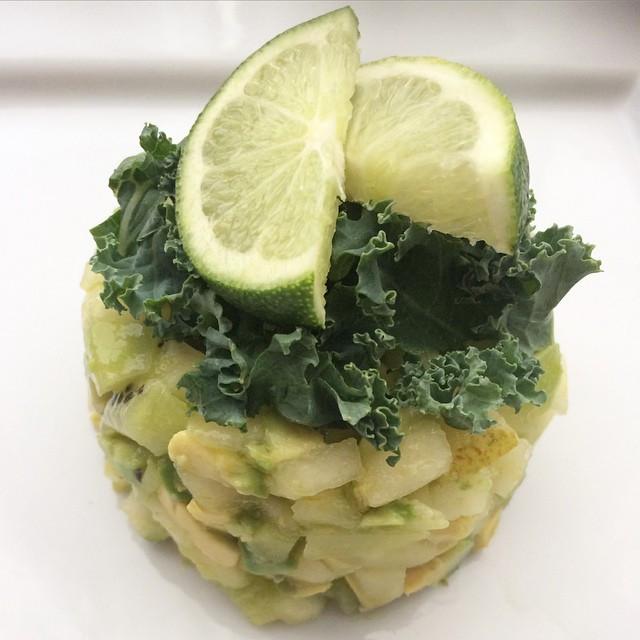 Tartare vert déjeuner  | Dodo la Grano - recettes végétaliennes, santé et simples