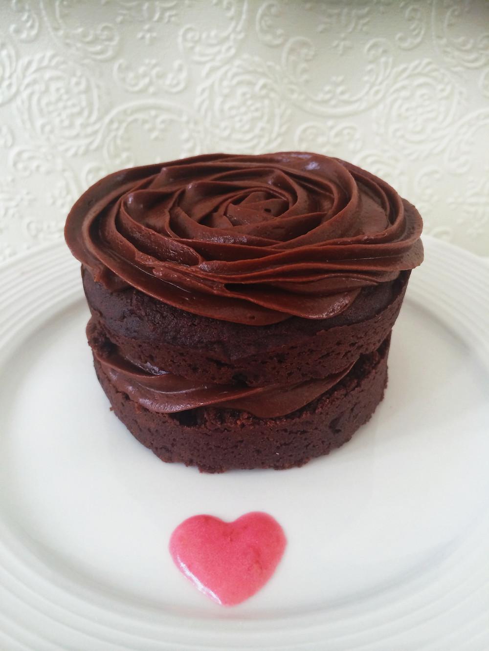 Gâteau au chocolat à partager ... ou pas ! | Dodo la Grano - recettes végétaliennes, santé et simples
