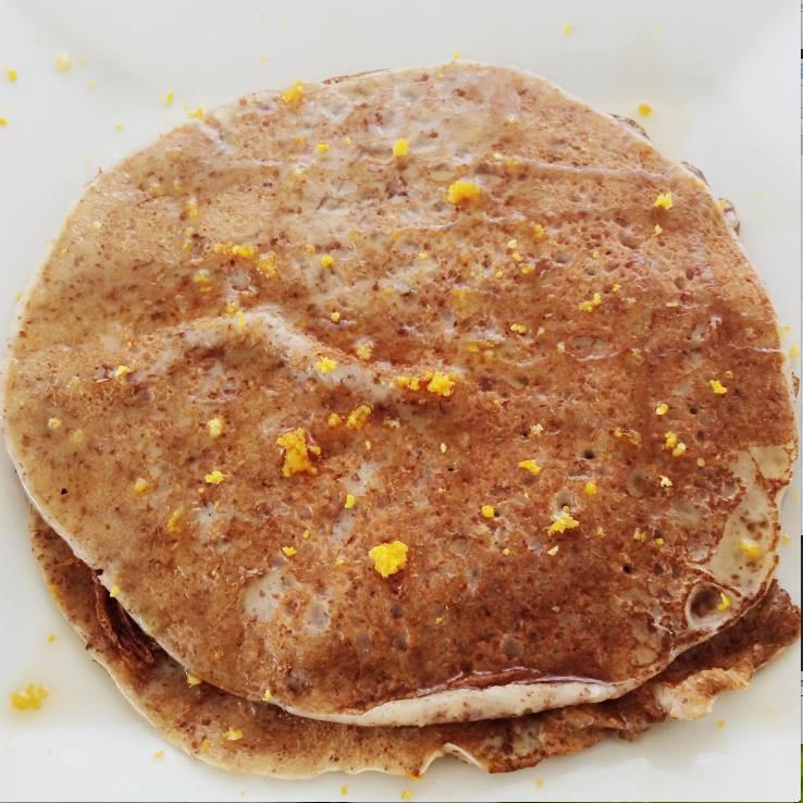 Crêpes au lin | Dodo la Grano - recettes végétaliennes, santé et simples