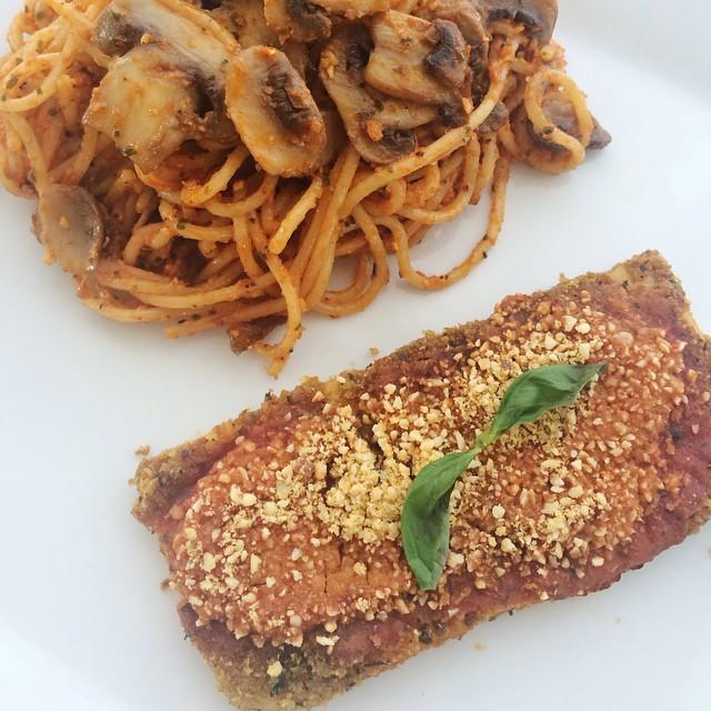 Tofu parmigiana   Dodo la Grano - recettes végétaliennes, santé et simples