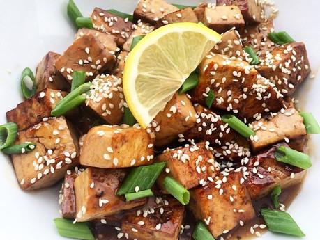 Tofu citron et érable